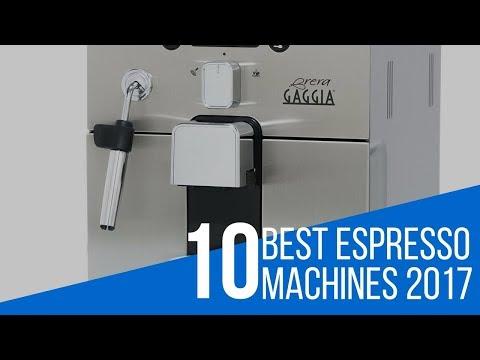 10 Best Espresso Machine Reviews 2017