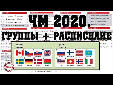 Лови расписание ЧМ 2020 по хоккею.