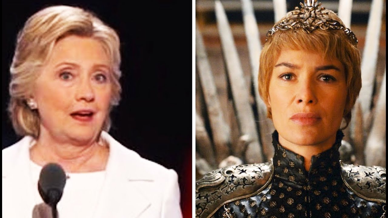 Hillary Compares Herself To Cersei thumbnail
