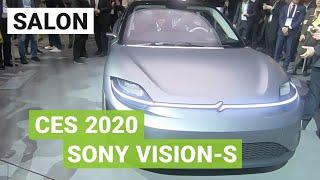 SONY Vision-S : la VOITURE électrique qui vole la vedette à la PLAYSTATION 5 au CES 2020