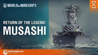 World of Warships - Return of the Legend: Musashi