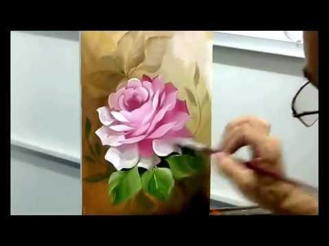 Rosa com detalhes