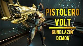 Warframe: Pistolero Volt | Best Speed & Shield Setup/Build - Video Youtube