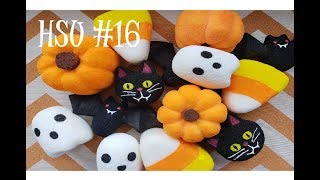 HOMEMADE SQUISHY UPDATE #16 (HALLOWEEN SQUISHIES & MORE!)