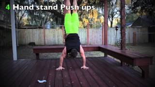 Balance and strength workout by Corey Hall