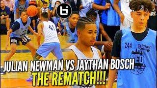 Julian Newman vs Jaythan Bosch Pt 2!! Julian GETS REVENGE at NEO ELITE Camp!