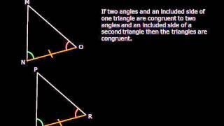 Triangle Congruence Theorems Free Geometry Lesson -LetsPracticeGeometry.com