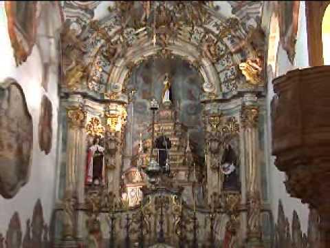 A Igreja mais famosa de Ouro Preto, um dos exemplares mais magníficos do barroco mineiro.