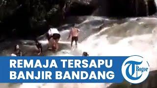 Remaja Tersapu Banjir Bandang saat Santai di Air Terjun, Air Deras Tiba-tiba Datang, 3 Orang Tewas