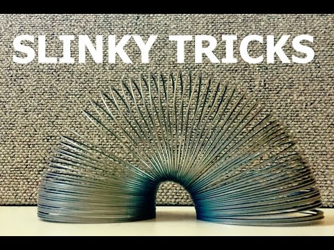 Cool Slinky Tricks! (Awesome Yet Easy)