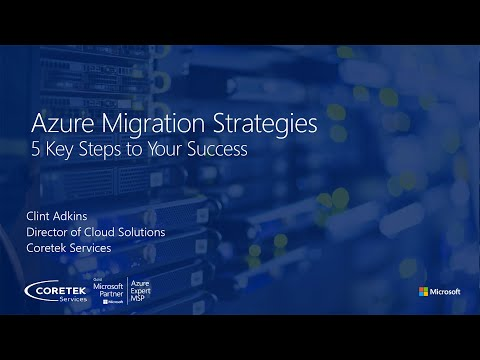 Azure Migration Strategies - Dec 2020