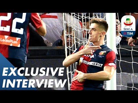 """""""Harry Kane Is My Role Model!""""   Serie A's Top Scorer, Krzysztof Piątek   Interview   Serie A"""