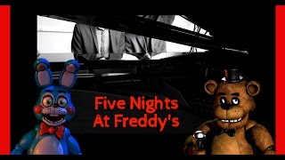 Five Nights At Freddy's Piano Medley || Atomic Melody