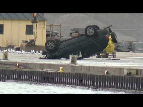 SUV crashes into river during police chase, 3 dead