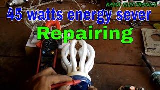 Energy saver repairing \ how to repair energy sever complete details in Urdu hindi