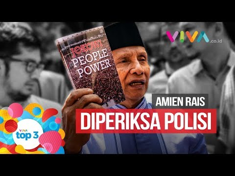 VIVA Top3: Amien Rais Diperiksa, Sudirman Cup & Pep Guardiola ke Juventus?