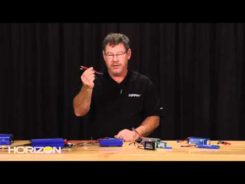 HorizonHobby.com How To - Charge Batteries Using E-flite Chargers
