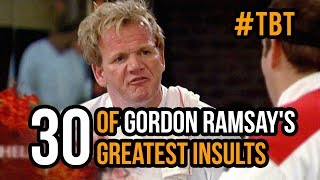 #TBT - 30 Of Gordon Ramsay's Greatest Insults
