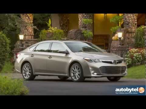 2013 Toyota Avalon XLE Full Size Sedan Review