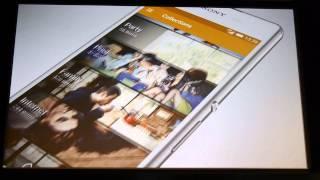 フラットデザインを取り入れた#XperiaZ4のUI#androidjp