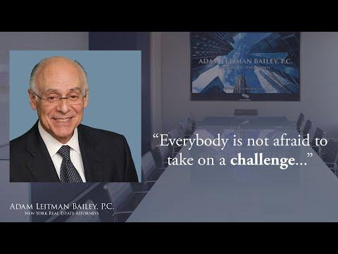 Adam Leitman Bailey, P.C. Philosophy testimonial video thumbnail