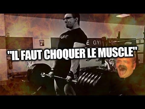 Pourquoi il ny a pas de relief des muscles
