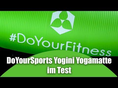 DoYourSports Yogini Yogamatte / Fitnessmatte im Test