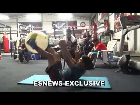 Mikey Garcia S&C With Pita Ready For Elio Rojas - EsNews Boxing