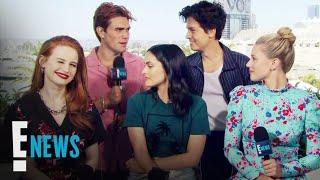 """Riverdale"" Cast Talk Season 4, Luke Perry Tribute Episode, and Lili's ""Hustlers"" Role | E! News"