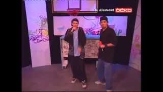 Video RADone & AJ - live rap - TV Ocko