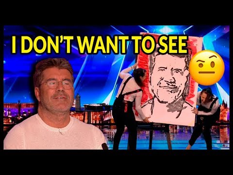"""Top 10 """"WORST AUDITIONS and Acts Go WRONG"""" on Britain's Got Talent 2017 - 2018 (видео)"""