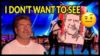 "Top 10 ""WORST AUDITIONS & Acts Go WRONG"" on Britain"