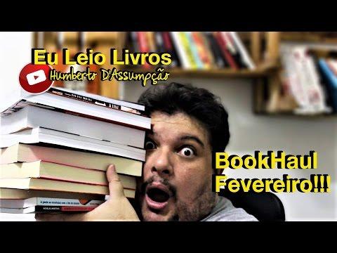 Book Haul - Fevereiro 2017 - Eu Leio Livros