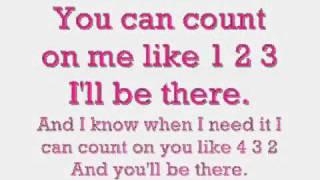 Bruno Mars' Count On Me   Mit Lyrics ♥