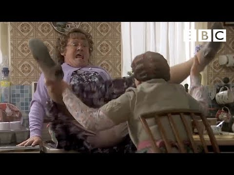 Mrs. Brown and Some Glue Spray!