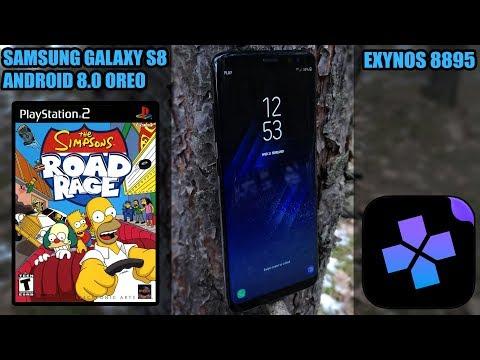 Samsung Galaxy S8 (Exynos) - The Simpsons: Road Rage