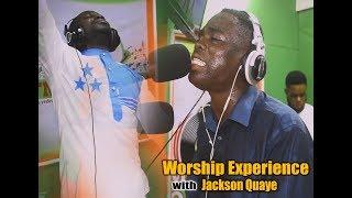 Awww JACKSON QUAYE on it again @ METRO 94 1FM LIVE WORSHIP with Okatakyie Afrifa