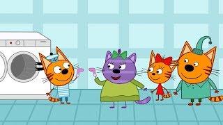 Три кота - В гостях у Горчицы - 107 серия