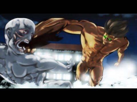 Shingeki no kyojin chapter 101 animated// capitulo 101 animado-FAN MADE
