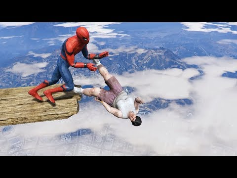 GTA 5 Crazy Ragdolls | Spider-Man ep.53 (Funny Moments)