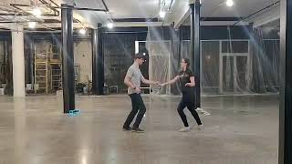 Syracuse Swing Connection - Private group lesson(2/16/20) - East coast swing(six count Lindy Hop) 2