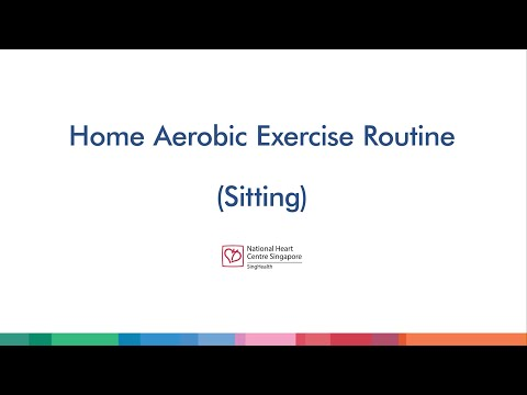 ​Exercises for Cardiac Patients (Sitting)