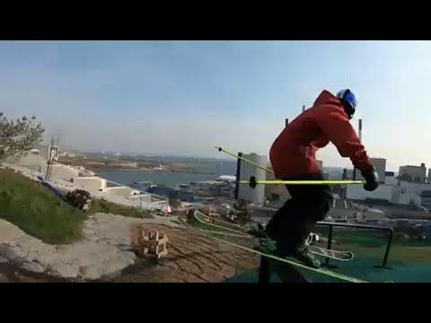 العرب اليوم - شاهد: مغامرة تحبس الأنفاس في منحدر كوبنهاغن للتزلج