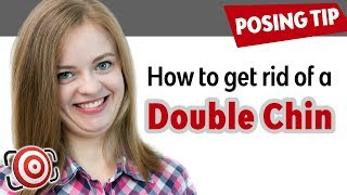 How to Get Rid of a Double Chin. Portrait Photography Posing Tips
