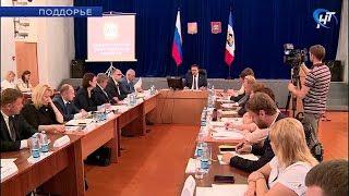 На выездном заседании правительства Новгородской области обсудили будущее Поддорского района
