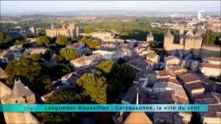 preview picture of video 'CARCASSONNE , ville du vent'