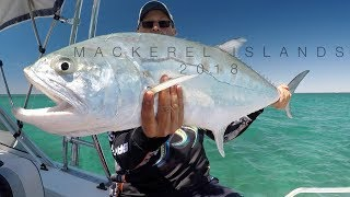 preview picture of video 'Fishing the Mackerel Islands, Western Australia 2018'