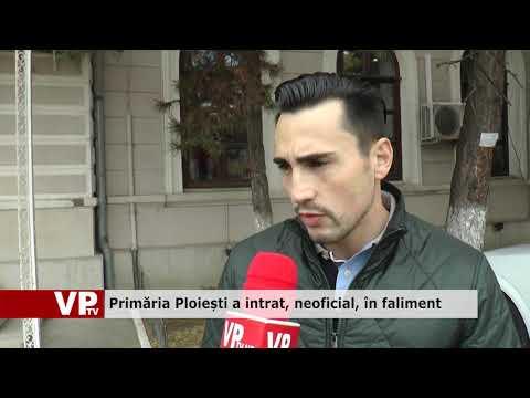 Primăria Ploiești a intrat, neoficial, în faliment