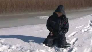 Зимняя рыбалка на реке енотаевка