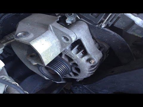 Lichtmaschine prüfen/ersetzen am Vectra B/Astra G